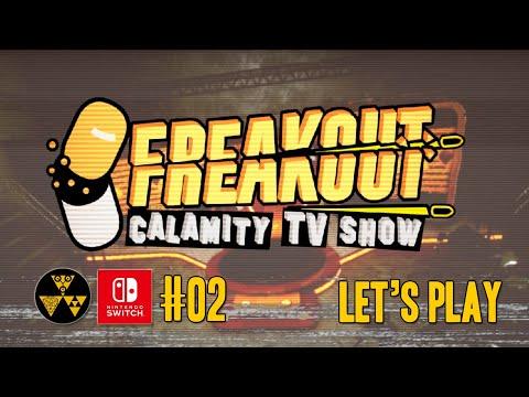 Freakout: Calamity TV Show #02 | Nintendo Switch Gameplay |