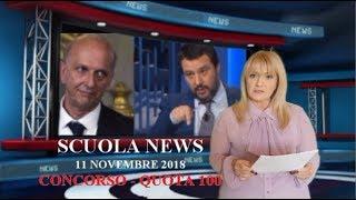 SCUOLA NEWS 11 NOVEMBRE 2018. CONCORSO E QUOTA 100