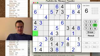 Tutorial with UK Sudoku Champion Tom Collyer