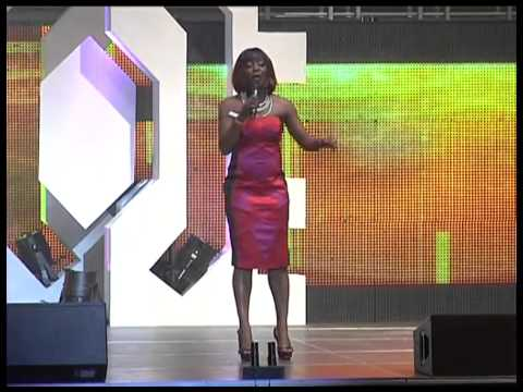 Ay Live Concert - Helen Paul Crack Rips At The Lagos Invasion 2011