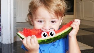 Johny Johny Yes Papa , Learn Fruit For Kids with Song Nursery Rhymes