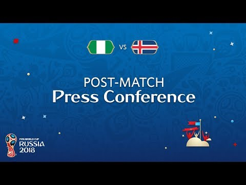 FIFA World Cup™ 2018: Nigeria - Iceland: Nigeria v. Iceland - Post-Match PC