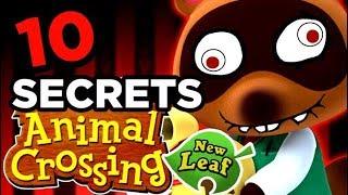 10 SECRETS SUR ANIMAL CROSSING NEW LEAF