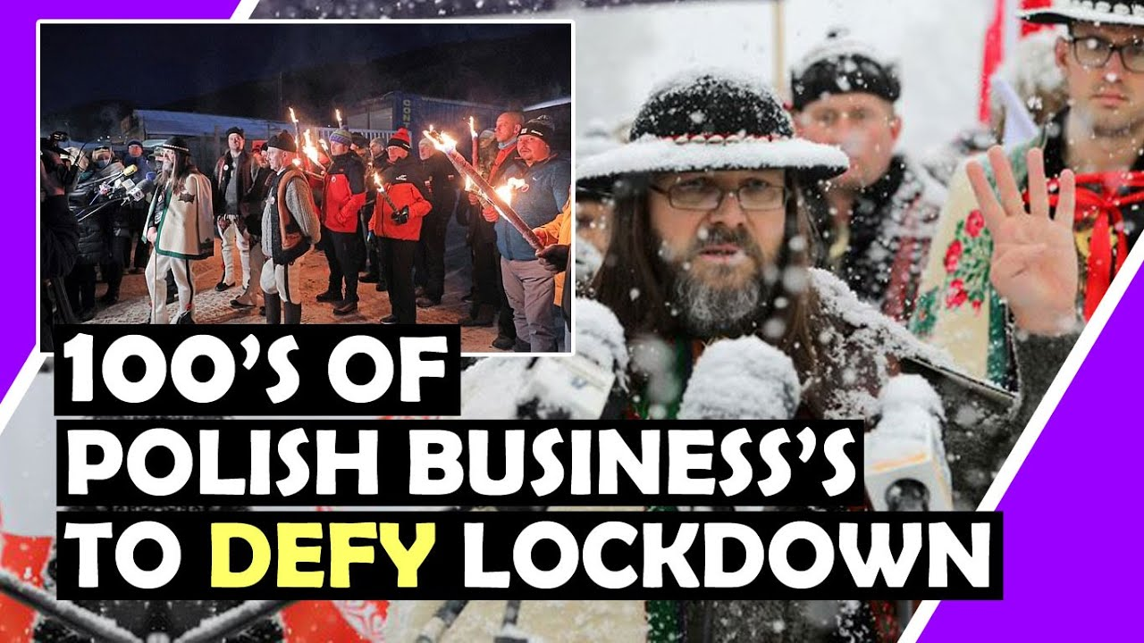100's Of Polish Business's To DEFY Lockdown / Hugo Talks #lockdown