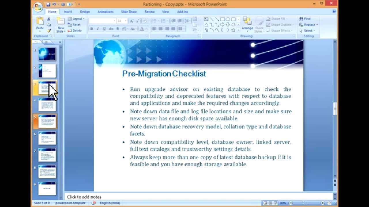SQL Server Database Migration Checklist [HD]