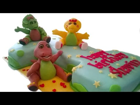 How To Make A Barney And Friends Cake