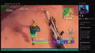 Playing fortnite season x #44 without talking sorry gys