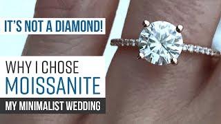 My Minimalist Wedding | Why I Chose a Forever One Moissanite Ring | Forever One Moissanite Review
