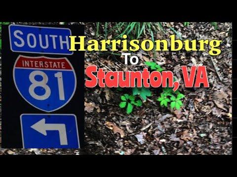 Harrisonburg To Staunton, VA Via I81 South