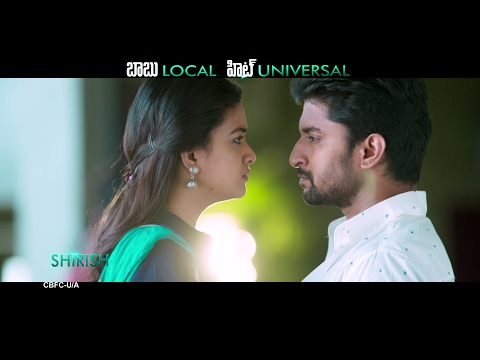 Nenu Local Back 2 Back Universal Hit Trailers  -  Nani, Keerthy Suresh