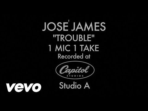 José James - Trouble (1 Mic 1 Take)