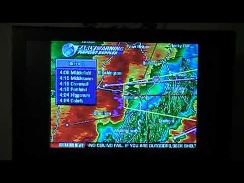 Tornado Warning In CT. (Connecticut)