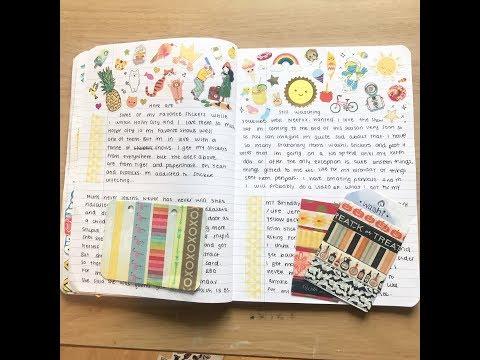 Journal progress || Oxford Notebook || Part 1