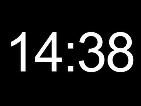 25 minute HD COUNTDOWN TIMER - no sound
