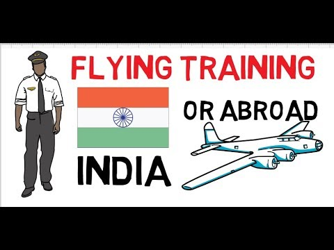 INDIA OR ABROAD FOR PILOT TRAINING | Comparison of Fees Cost and Duration 2017  udaan job guide