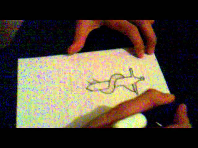 Vizatimi i nje gjarpri ne shpat.:)