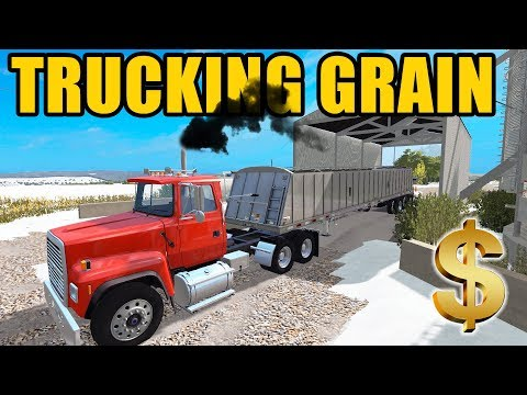 FARMING SIMULATOR 2017 | SELLING CORN AT THE ELEVATOR & WASHING UP ALL THE EQUIPMENT | EP #19