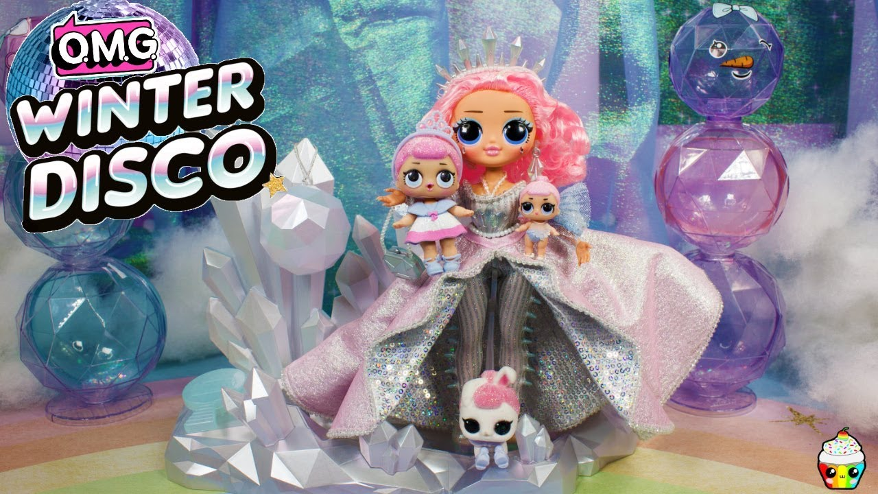 New Lol Omg Winter Disco Crystal Star Collector Edition Doll Crystal Queen Big Sister