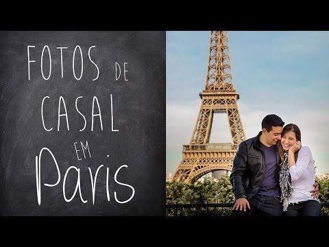 Fotos de casal em Paris - Slideshow com 40 fotos