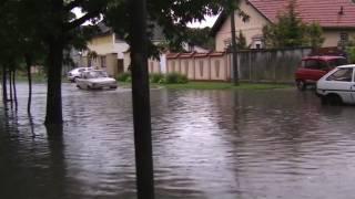 City of Subotica in the 21st century, spring rain.mpg
