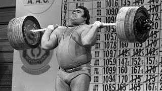 Василий Алексеев жим 235 кг Vasily Alekseev Press 235 kg