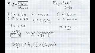 №3.Как легко найти область определения функции