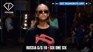 six one six Mercedes Benz Fashion Week Russia S/S 2019   FashionTV   FTV