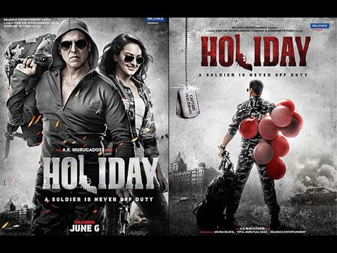 Holiday (2014) Full Hindi Movie 1080p BluRay HD - Akshey Kumar, Sonakshi thumbnail