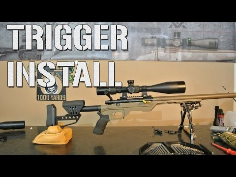 How To: Install a Remington 700 Trigger - YouTube