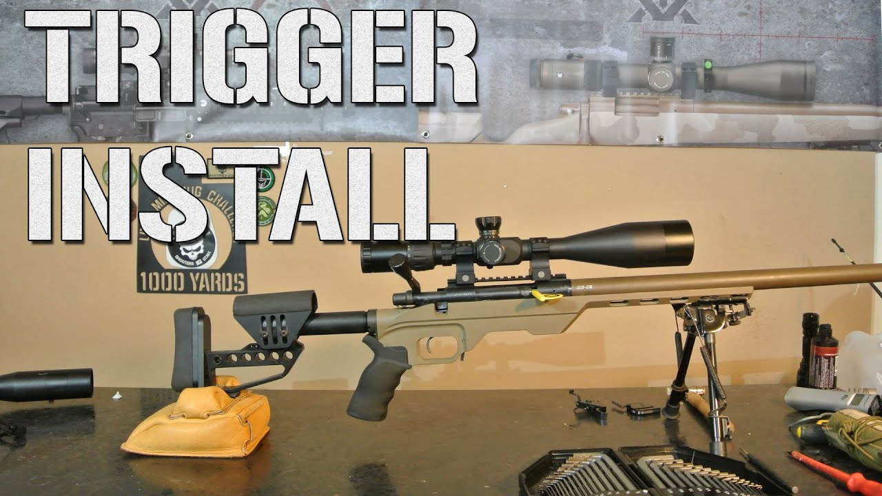 How To: Install a Remington 700 Trigger