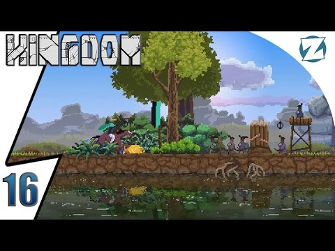 Kingdom Gameplay - Ep 16 - Free Wall Upgrade - Let's Play