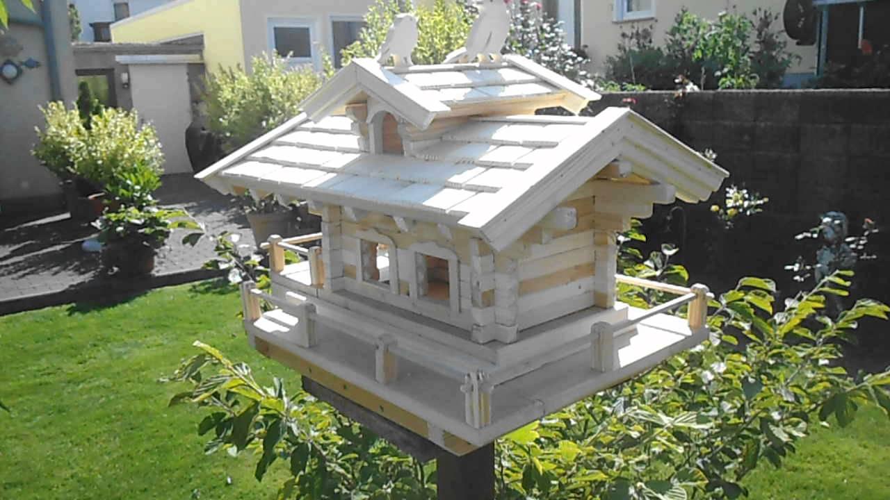vogel futterhaus selber bauen deko garten balkon youtube. Black Bedroom Furniture Sets. Home Design Ideas