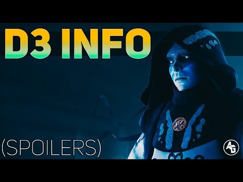 Destiny 3 Info (SPOILERS)