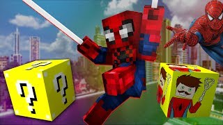 SPİDER K BLOKLARI ! (Minecraft Şans Blokları)