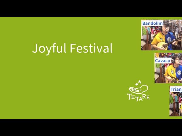 (40秒) 子どもたちの駆け回る楽しいお祭り