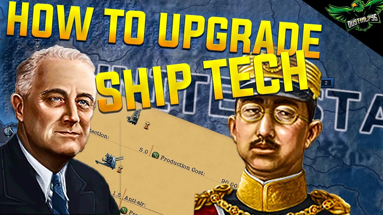 HOI4 MTG How to Get Upgrades for the Ship Designer | Hearts of Iron 4 Man  the Guns Expansion Guide