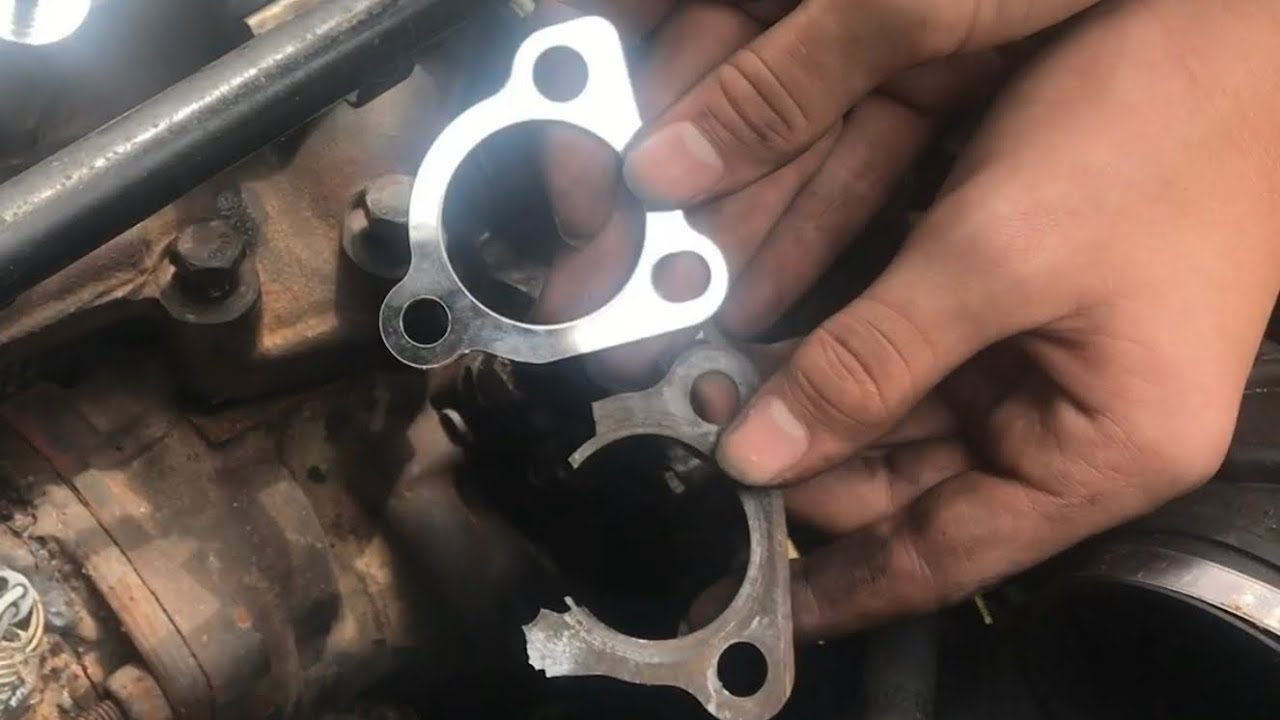 Tips Replace Exhaust Manifold Turbo Gasket 1 8t Audi Volkswagen Youtube