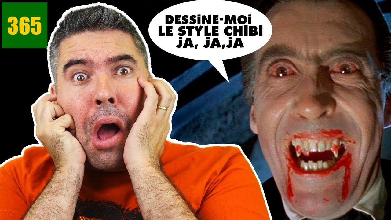 Comment Dessiner Dracula Chibi Comment Dessiner Un Vampire