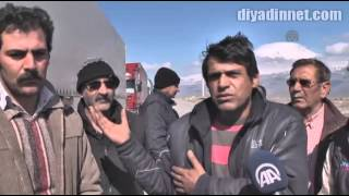 İran sınırında 20 kilometrelik tır kuyruğu - AĞRI
