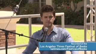 Actor Keegan Allen at the Los Angeles Times Festival of Books