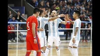 #LigaSudamericana #Mayor - Argentina vs Chile - #Fecha4