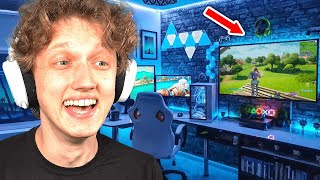 REACTING to the BEST Fortnite Gaming Setups...