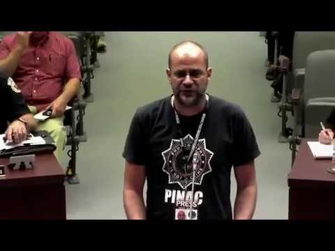 Doc Justice rebuking Homestead Manager Gretsas August 2017