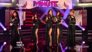Music Bank[Live HD 720p] 120420   4minute   Volume up