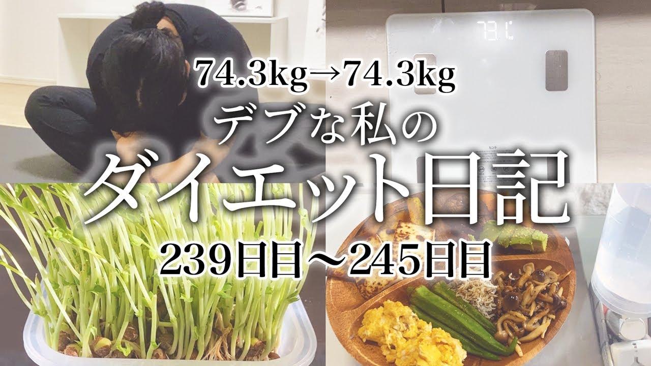 【ダイエット】1年後にモデル体型になるデブが体重をキープするためにしている食事内容、運動メニューを全て見せます!