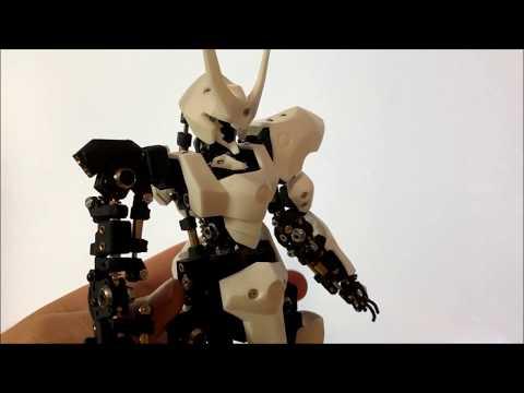 VISOR FORCEシリーズの可動ギミック紹介動画を公開