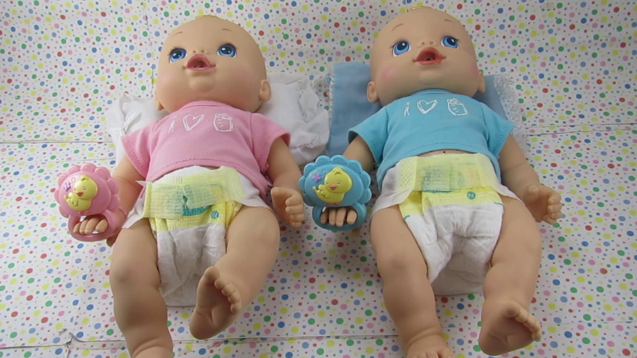 Baby Alive Wets And Wiggles Twins For Sale Youtube