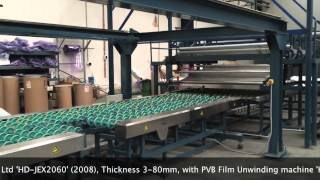 Complete EVA Switchable Decorative Architectural Glass Laminating Line on Go-Dove.com