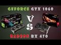 GeForce GTX 1060 vs Radeon RX 470 Detailed Comparison (1080P; 1440P)