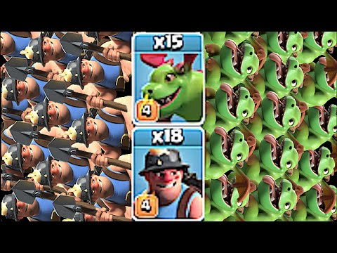 Clash Of Clans - BEST BABY DRAGON & MINER COMPOSITION!! (New Troop Raids)
